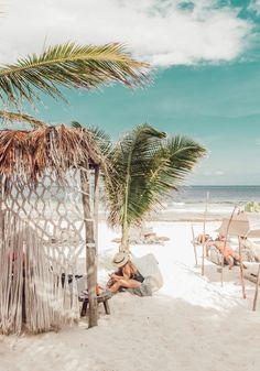 11 Fabulous Beach Clubs in Tulum Dream Vacations, Vacation Spots, Tulum Restaurants, Chicago Restaurants, Surf House, Tulum Beach, Sustainable Tourism, Tulum Mexico, Relax