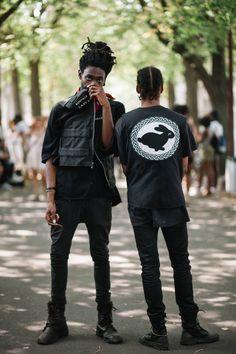 The Men of AFROPUNK Punk Guys, Goth Guys, Afro Punk Fashion, Grunge Fashion, Dark Fashion, Gothic Fashion, African Men Fashion, Fashion Men, Costume