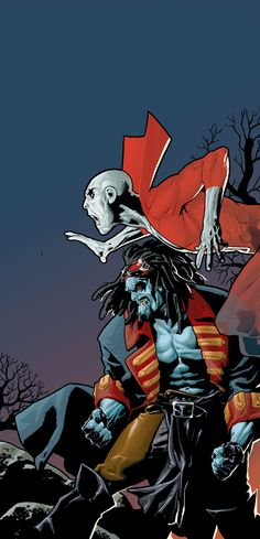 Deadman & Lobo by Ryan Sook