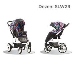 Bebetto Nico S-line kolica za bebe, dezen SLW29