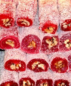 Looking for knowledge on how to make Turkish delight? Want to know about all the different varieties of Turkish delight available? Turkish Delight, Candy Recipes, Snack Recipes, Snacks, Types Of Candy, Easy Meals, Turkey, Favorite Recipes, Sweets