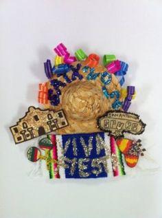 "2012 Original Fiesta Medal - ""Celebrate S.A. Culture"" by Deborah Solis (René A. Guzman/San Antonio Express-News) / SA"