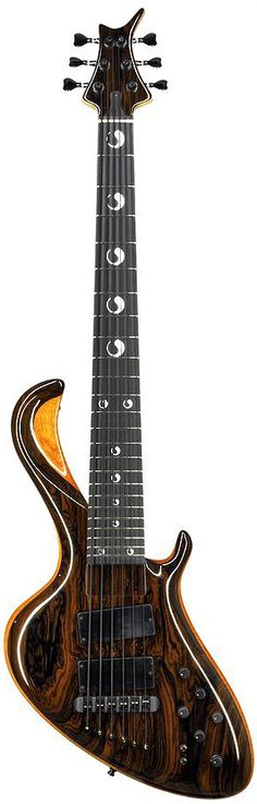 Jens Ritter The Seal 6-string with a Zirikote top