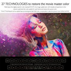 JMGO M6 Portable DLP Projector Sales Online golden - Tomtop Tech Accessories, Palette, Digital, Frame, Picture Frame, Pallets, Frames
