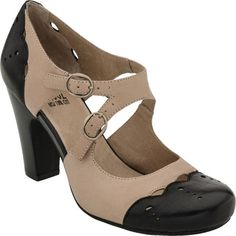 1940s style shoes  - Miz Mooz Joni Black Women's