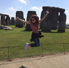 Photo: G Hannelius Excited About Seeing Stonehenge August 8, 2015 - Dis411