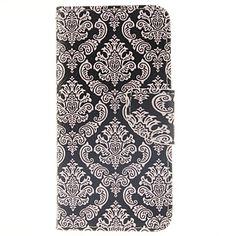 patrón de la cartera logrotate®totem cuero de la PU caso de cuerpo completo con soporte para el iphone 6 - CLP $ 4.535