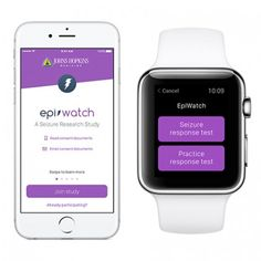 EpiWatch monitors symptoms to improve seizure detection, medication adherence, and quality of life for those with epilepsy