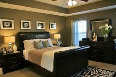 Taupe Paint Bedroom