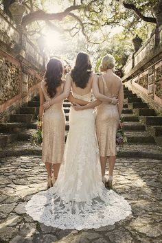 """Sorella Vita means """"sisters for life"""" for a reason. Absolute love their wedding dresses!"""