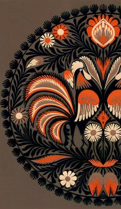 Polish Folk Art, Cut Out