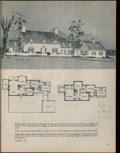 Houses for homemakers-1945 Truly perfect floor plan