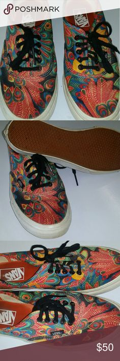 14ad6c11acf2 Limited edition Vans Limited addition Vans worn once size 9 in mens Vans  Shoes Sneakers