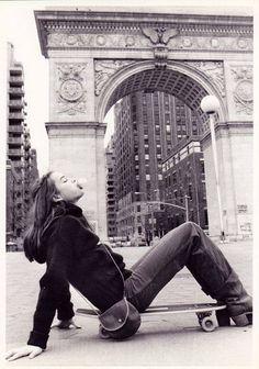 "nycnostalgia: ""Brooke Shields in Washington Square Park, 1978 """