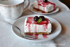 Cheesecake panna, mascarpone, ricotta e marmellata