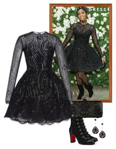 """Janelle Monae – Lord & Taylor Celebrates The Dress Address."" by foreverforbiddenromancefashion ❤ liked on Polyvore featuring Alexander McQueen, Zuhair Murad and Christian Louboutin"