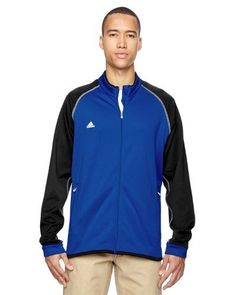 Adidas Golf Mens Clima Warm Jacket A200 2XL Vivid Blue/ Blk, Men's, Size: XXL, Black