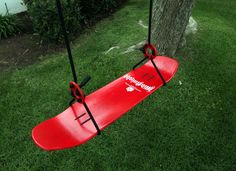 skateboard swing. @Rachel Black, thought you would think this was cool too! :)
