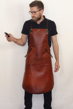 Handcrafted leather apron for Bar staff | Barista's and Craftspeople