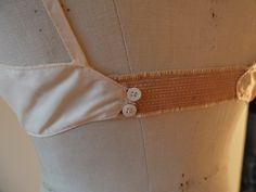 2 French 1930's bras lingerie underwear by FrenchVintageLife
