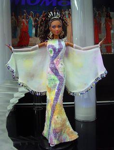 Miss U.S.V.I. 2012 by Ninimomo Dolls