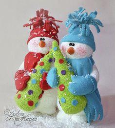 Новогодние игрушки своими руками