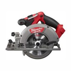 Milwaukee M18 FUEL 18-Volt 7-1/4 in. Lithium-Ion Cordless Rear Handle Circular Saw Kit with 12.0 Ah Battery and Rapid Charger-2830-21HD - The Home Depot Milwaukee Fuel, Milwaukee M18, New Milwaukee Tools, Steel Roof Panels, Metal Roof, Cordless Power Tools, Saw Tool, Cordless Circular Saw, Shopping
