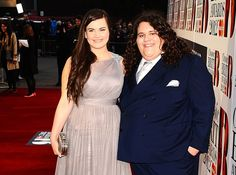 Charlotte Jaconelli and Jonathan arrive at the Classical Brits 2012