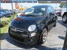 2012 Fiat 500, 17,034 miles, $13,999.