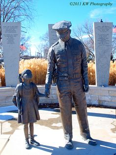 Law Enforcement Memorial in Junction City Kansas