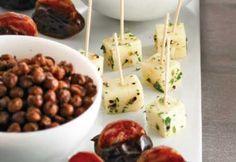 Fromage mariné au poivre et au fenouil #recette #bouchee