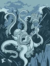 Image result for ancient nautical poems about sea monsters