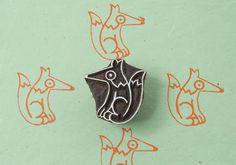Stamp Fox / guineu