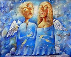 Two Angels by Yuri Macyk.