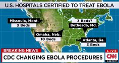 [Watch] We Can't Handle Ebola – Only 19 Hospital Beds in All of U.S. Ebola Certified