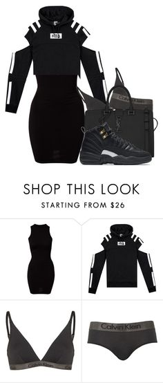 """Go Getter"" by alexanderbianca ❤ liked on Polyvore featuring River Island, Calvin Klein, Yves Saint Laurent and NIKE"
