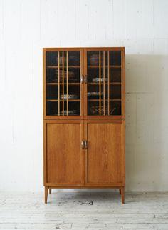 TRUCK|127. QUATTRO CUPBOARD Furniture, Diy Kitchen Decor, Dining Room Design, Interior Furniture, Cupboard, Retro Interior, Wood Design, Woodworking Furniture, Wood Furniture