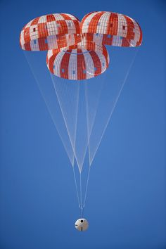 NASA's Orion Spacecraft Parachutes Tested at U.S. Army Yuma Proving Ground #NASA #ImageoftheDay