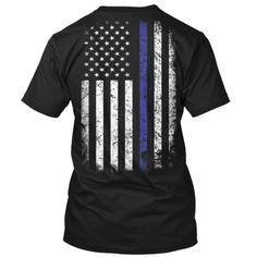 Thin Blue Line Flag USA $5 Off.
