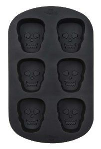 Wilton Scary Skulls 6 Cavity Silicone Mold by Wilton. $14.99. Freezer, refrigerator, microwave and dishwasher safe. Oven safe to 500 degrees. 6 cavity. Discover the convenience and easy release of flexible silicone bakeware! Freezer, refrigerator, microwave and dishwasher safe — oven safe to 500 degrees.