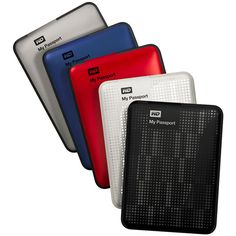 Western Digital My Passport portable hard drives: now up to 2TB