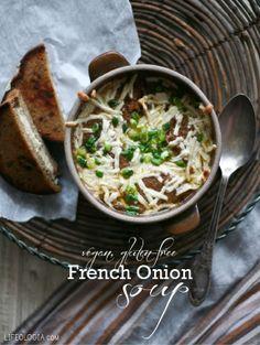 French Onion Soup! (vegan & gluten-free or wheat-free recipe)