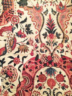 Sits stoffen in het Fries Museum Ethnic Patterns, Textile Patterns, Textile Prints, Print Patterns, Batik Pattern, Pattern Art, Surface Pattern, Papier Paint, Ajrakh Prints