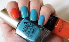 Ga-de 462 celestial blue & ARTDECO # 79