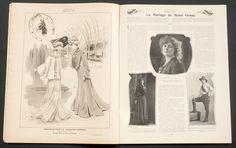 'FEMINA' FRENCH VINTAGE MAGAZINE 15 MARCH 1903 | eBay