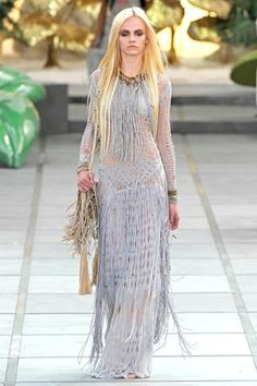 Roberto Cavalli Spring 2011 collection
