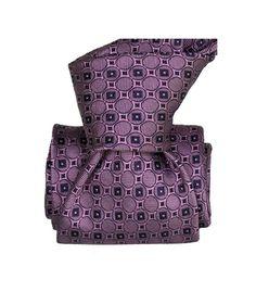 shlax/&wing Couleur Unie Burgundy Violet Cravate Pour des Hommes Soie Ensemble Costume daffaires Mariage