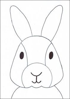 How to Draw a Bunny Face · Art Projects for Kids Summer Art Projects, Projects For Kids, Crafts For Kids, Free Printable Coloring Sheets, Unique Drawings, Bunny Face, Rabbit Art, Easter Activities, Spring Art