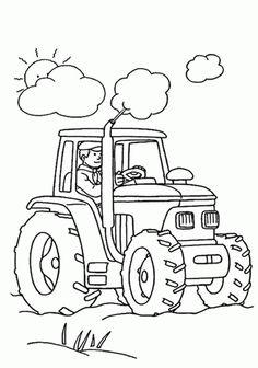 19 best ausmalbilder traktor images | tractor coloring
