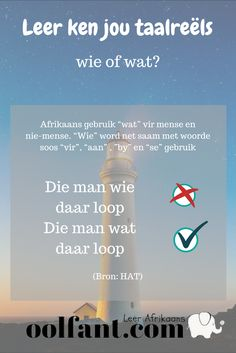 Wie of wat? Classroom Quotes, Classroom Themes, Classroom Activities, Afrikaans Language, Afrikaans Quotes, Teachers Aide, Kids Learning, Homeschool, Wisdom